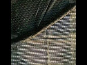 160gsm poliestrske osnove pletene mrežaste tkanine za vojaške telovnik