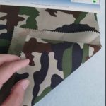 Kamuflažni vzorec 80/20 bombažni poliester keper tkanine za vojaško uniformo