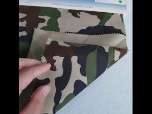 Kamuflažni vzorec 8020 bombažni poliester keper tkanine za vojaško uniformo
