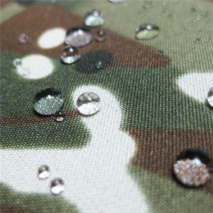 teflon 100% poliester tkane vodotesno zunanjo vojaško maskirno tkanino iz dežne jakne