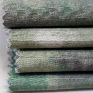 Antistatično vojaško tiskanje Ripstop bombažne tkanine za vojno oblačilo
