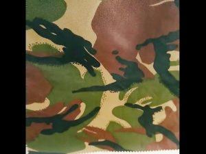 kamuflaža tiskana vodoodporna ripstop najlonska oksfordska enotna vojaška tkanina