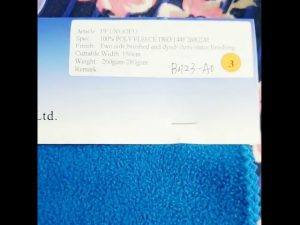 Kitajska tovarna 100% poliester fleece anti statične zimske jakne tkanine