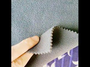 Kitajska debelo 100% poliester suho fit fleece tkanine za uporabo v zaprtih prostorih