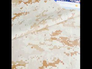 kakovosten maskirni vzorec 100% najlon tkanine varnost vojaške uporabe